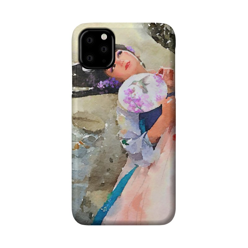 Hui Zi Dreams of being a princess one day Accessories Phone Case by Draw Juice Custom Art Prints