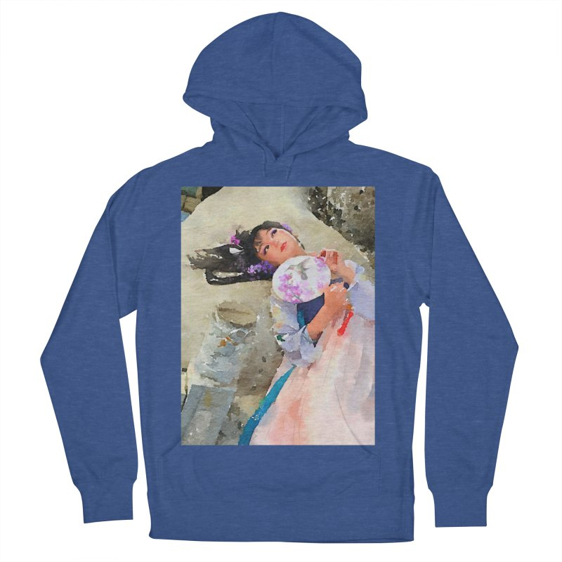 Hui Zi Dreams of being a princess one day Men's French Terry Pullover Hoody by Draw Juice Custom Art Prints