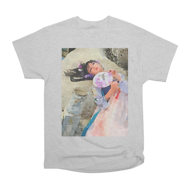 Hui Zi Dreams of being a princess one day Men's Heavyweight T-Shirt by Draw Juice Custom Art Prints