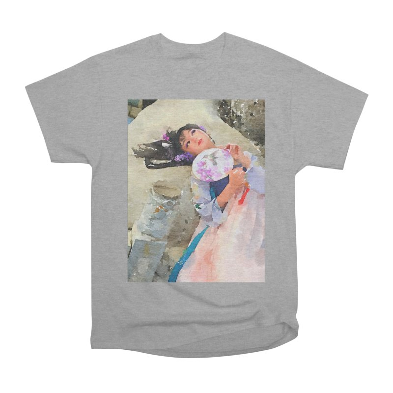 Hui Zi Dreams of being a princess one day Men's Heavyweight T-Shirt by Draw Juice Custom Art Prints
