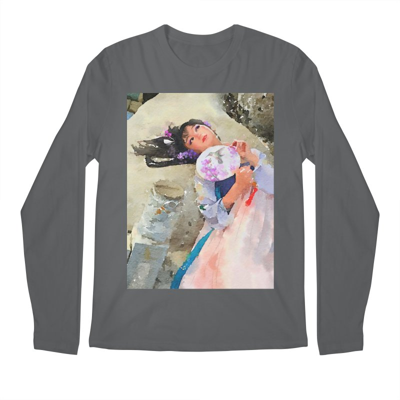 Hui Zi Dreams of being a princess one day Men's Regular Longsleeve T-Shirt by Draw Juice Custom Art Prints