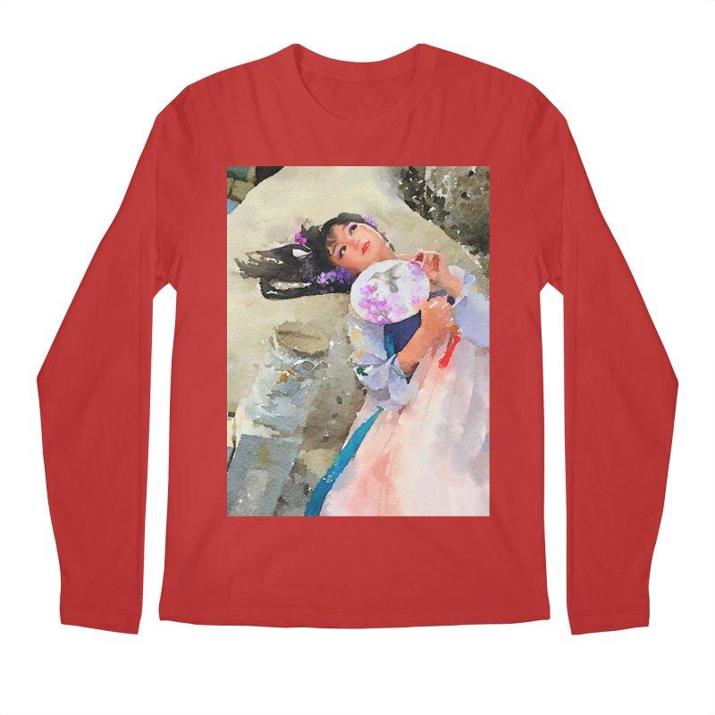 Hui Zi Dreams of being a princess one day Men's Longsleeve T-Shirt by Draw Juice Custom Art Prints