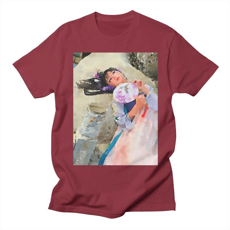 Hui Zi Dreams of being a princess one day Men's T-Shirt by Draw Juice Custom Art Prints