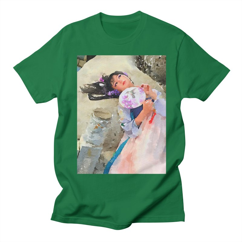 Hui Zi Dreams of being a princess one day Men's T-Shirt by Draw Juice Custom Art Prints