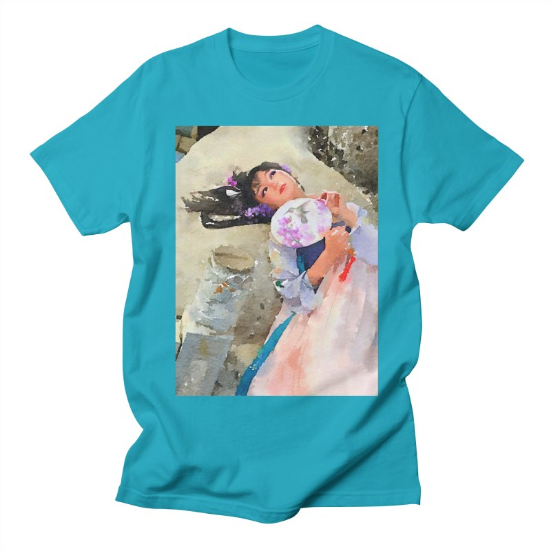 Hui Zi Dreams of being a princess one day Men's Regular T-Shirt by Draw Juice Custom Art Prints