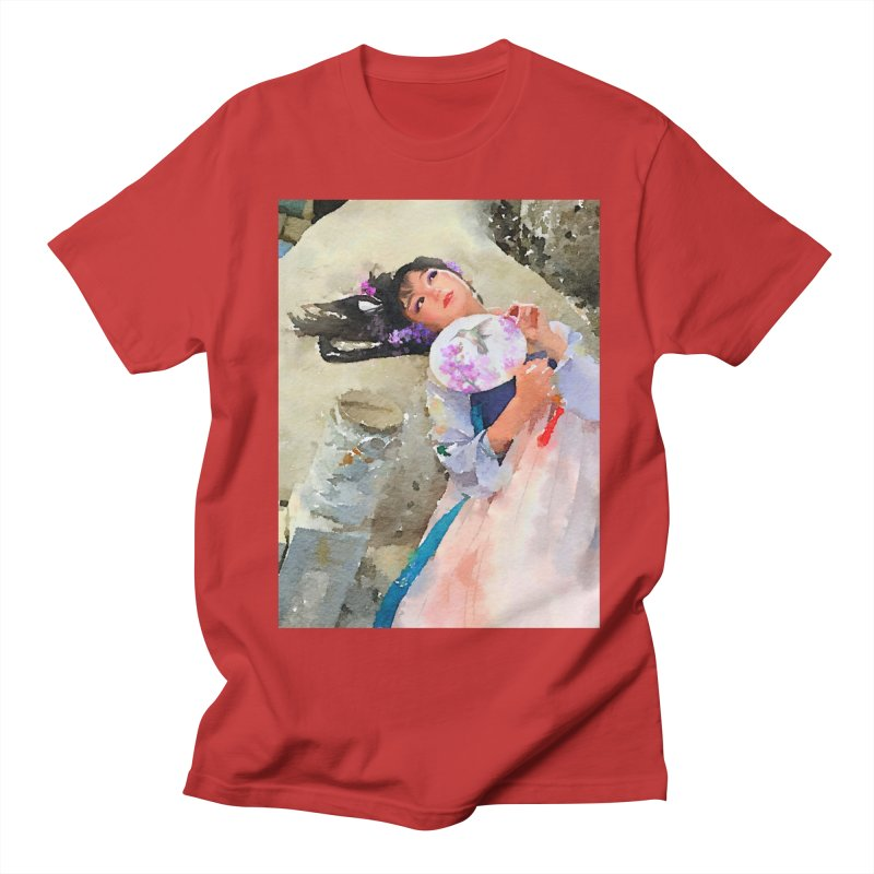 Hui Zi Dreams of being a princess one day Men's Regular T-Shirt by Draw Juice Custom Art Prints