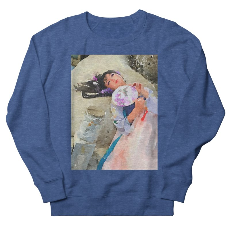 Hui Zi Dreams of being a princess one day Women's French Terry Sweatshirt by Draw Juice Custom Art Prints