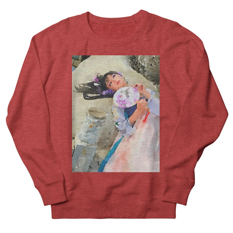 Hui Zi Dreams of being a princess one day Men's French Terry Sweatshirt by Draw Juice Custom Art Prints