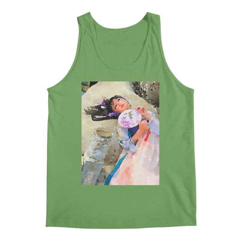 Hui Zi Dreams of being a princess one day Men's Tank by Draw Juice Custom Art Prints