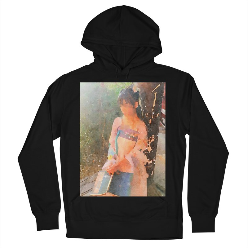 A beautiful poem reminds Hui Zi of the princess she longs to be Men's French Terry Pullover Hoody by Draw Juice Custom Art Prints