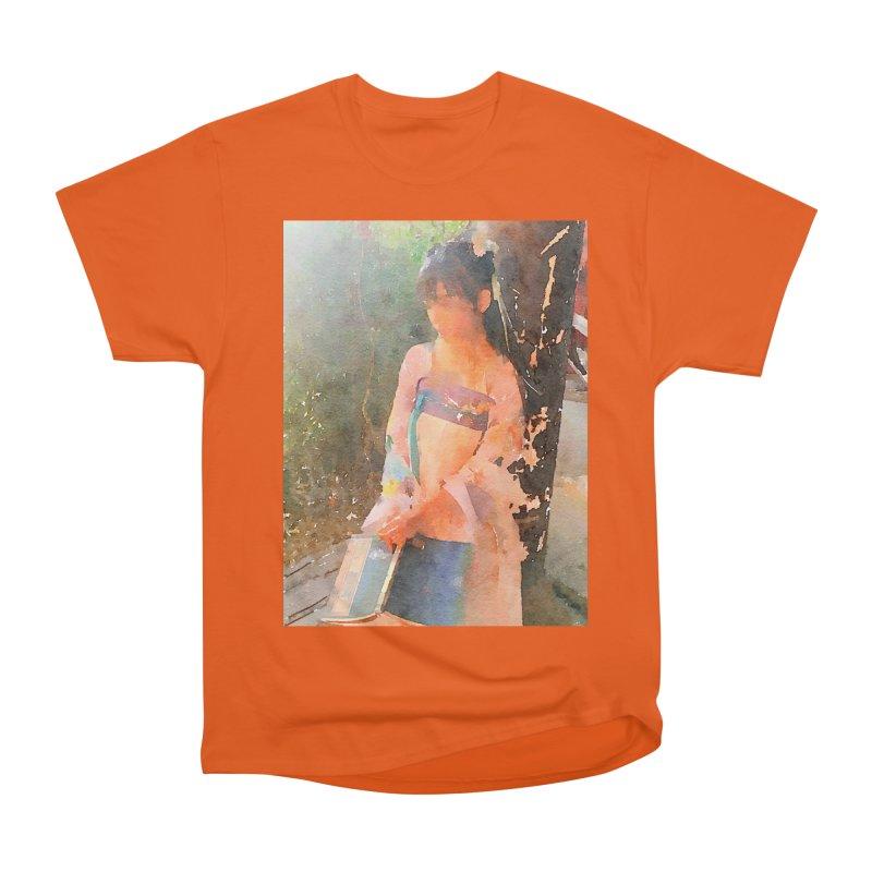 A beautiful poem reminds Hui Zi of the princess she longs to be Women's Heavyweight Unisex T-Shirt by Draw Juice Custom Art Prints