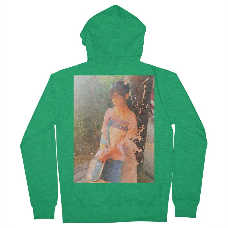 A beautiful poem reminds Hui Zi of the princess she longs to be Men's French Terry Zip-Up Hoody by Draw Juice Custom Art Prints
