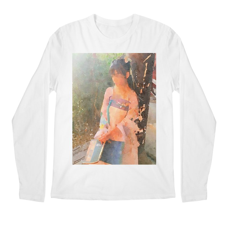 A beautiful poem reminds Hui Zi of the princess she longs to be Men's Regular Longsleeve T-Shirt by Draw Juice Custom Art Prints