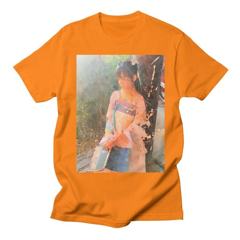 A beautiful poem reminds Hui Zi of the princess she longs to be Men's Regular T-Shirt by Draw Juice Custom Art Prints