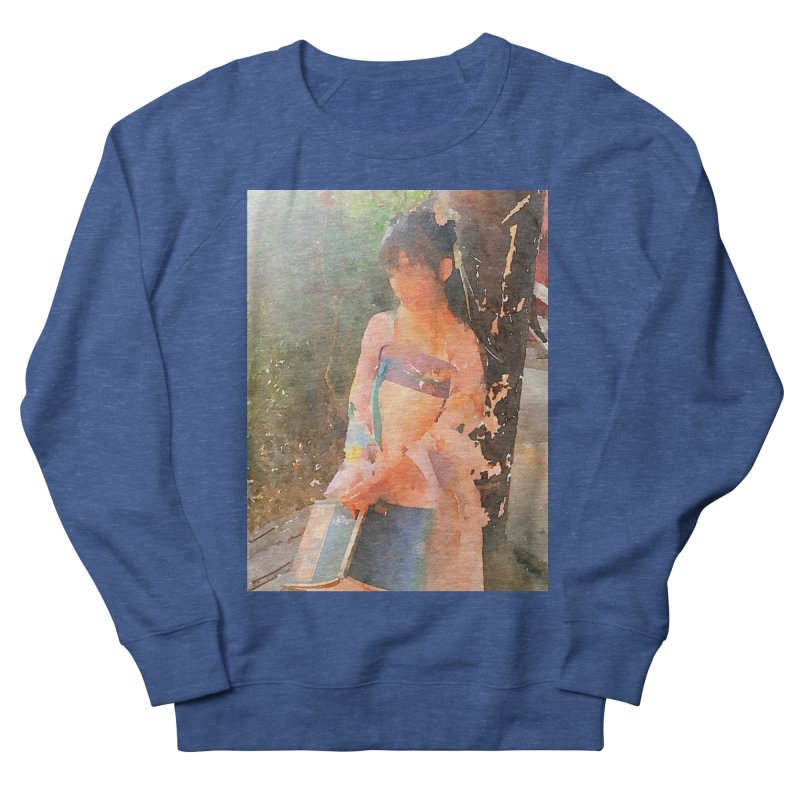 A beautiful poem reminds Hui Zi of the princess she longs to be Women's French Terry Sweatshirt by Draw Juice Custom Art Prints