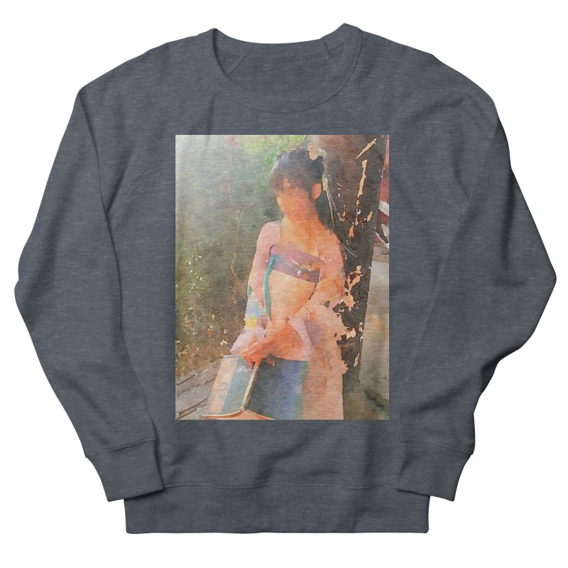 A beautiful poem reminds Hui Zi of the princess she longs to be Men's French Terry Sweatshirt by Draw Juice Custom Art Prints