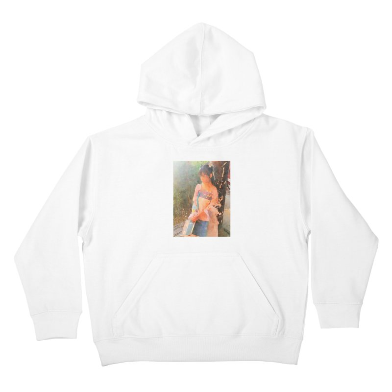 A beautiful poem reminds Hui Zi of the princess she longs to be Kids Pullover Hoody by Draw Juice Custom Art Prints