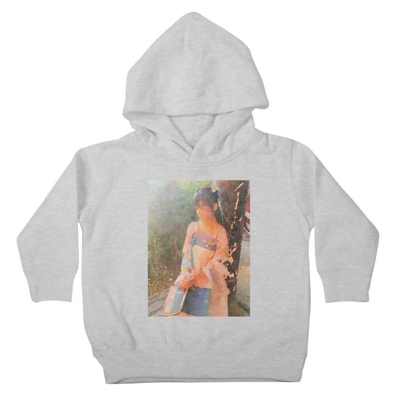 A beautiful poem reminds Hui Zi of the princess she longs to be Kids Toddler Pullover Hoody by Draw Juice Custom Art Prints