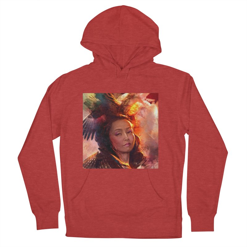 Nevermore Women's French Terry Pullover Hoody by Draw Juice Custom Art Prints