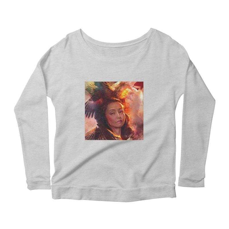 Nevermore Women's Scoop Neck Longsleeve T-Shirt by Draw Juice Custom Art Prints