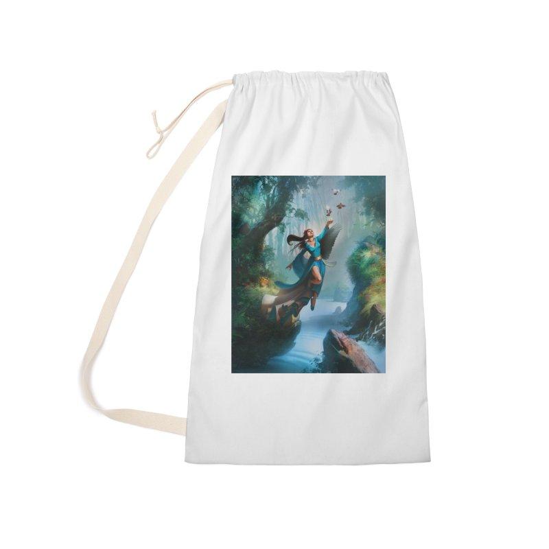 Wind Walker Accessories Bag by Draw Juice Custom Art Prints