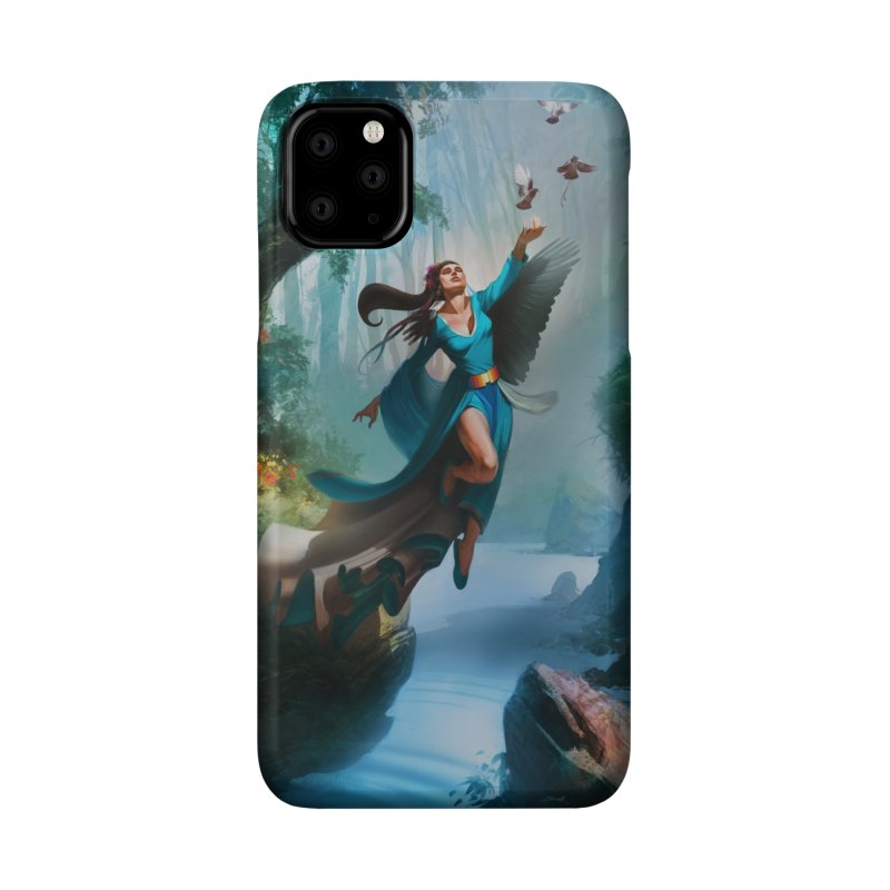 Wind Walker Accessories Phone Case by Draw Juice Custom Art Prints