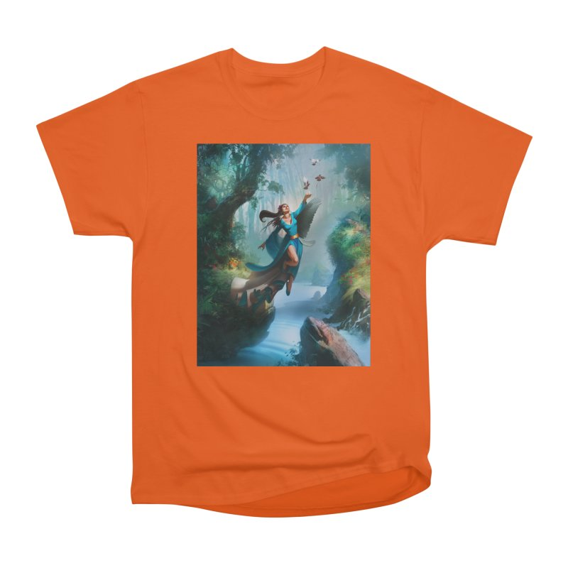 Wind Walker Men's T-Shirt by Draw Juice Custom Art Prints
