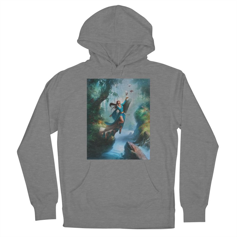 Wind Walker Women's Pullover Hoody by Draw Juice Custom Art Prints