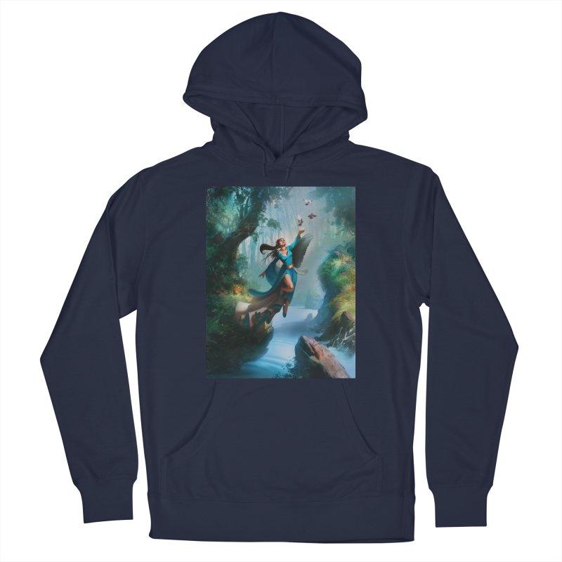 Wind Walker Men's Pullover Hoody by Draw Juice Custom Art Prints