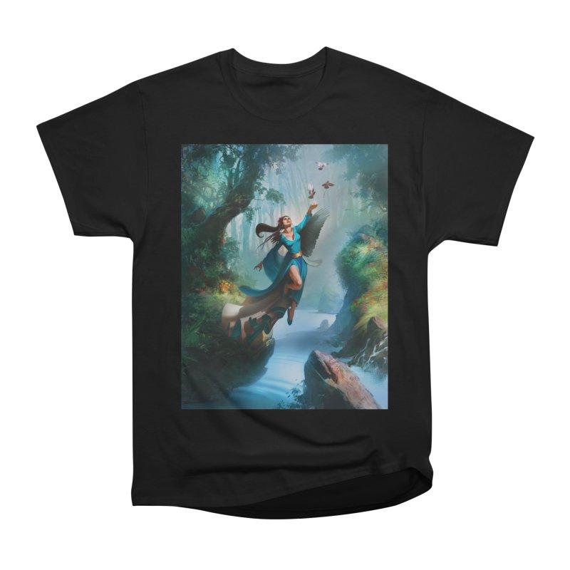 Wind Walker Men's Heavyweight T-Shirt by Draw Juice Custom Art Prints
