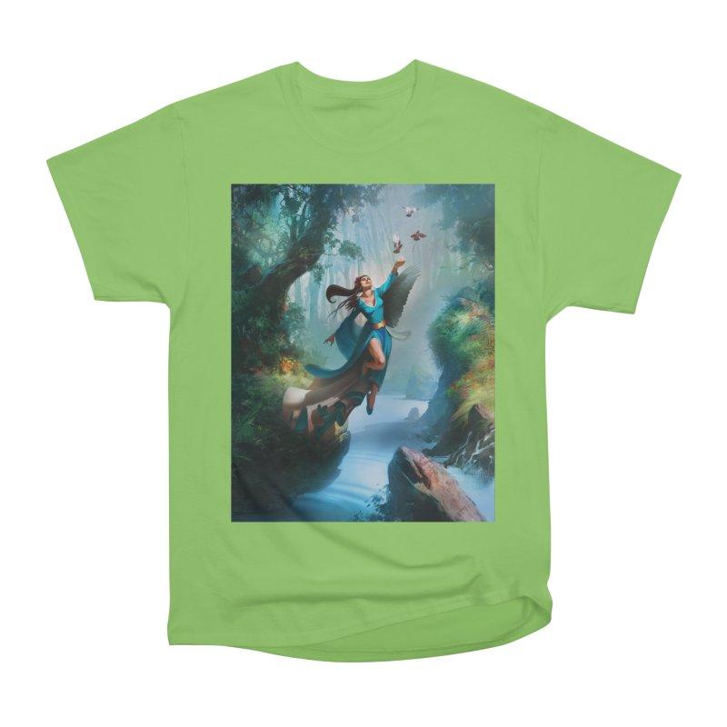 Wind Walker Women's Heavyweight Unisex T-Shirt by Draw Juice Custom Art Prints