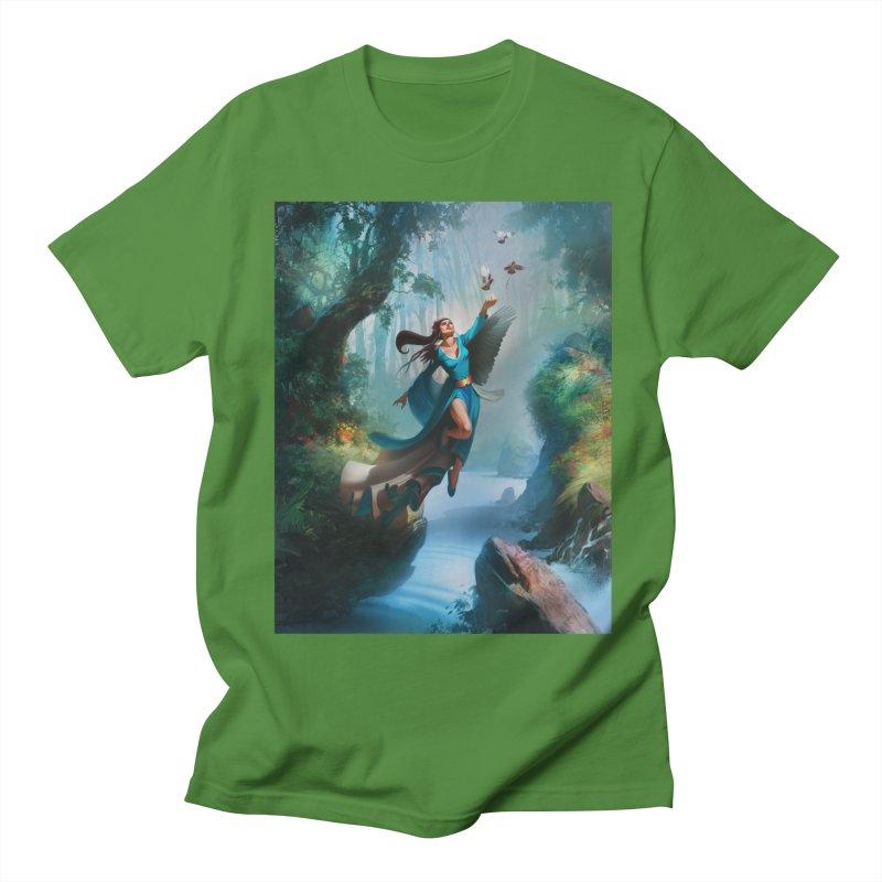 Wind Walker Men's Regular T-Shirt by Draw Juice Custom Art Prints