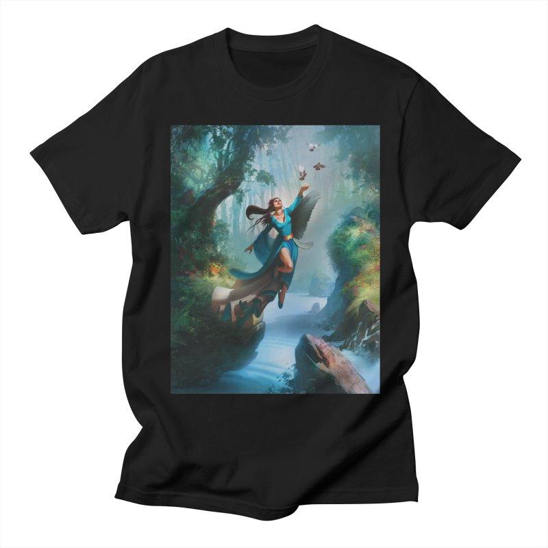 Wind Walker Women's Regular Unisex T-Shirt by Draw Juice Custom Art Prints