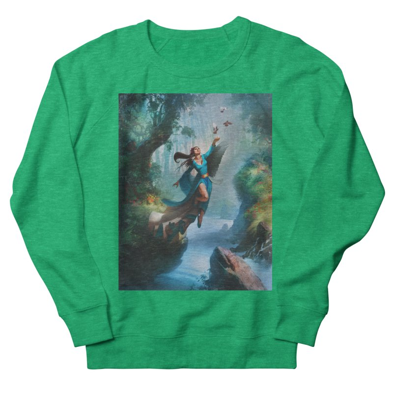 Wind Walker Women's Sweatshirt by Draw Juice Custom Art Prints