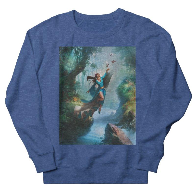 Wind Walker Men's Sweatshirt by Draw Juice Custom Art Prints