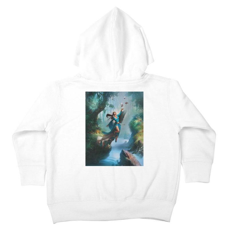Wind Walker Kids Toddler Zip-Up Hoody by Draw Juice Custom Art Prints