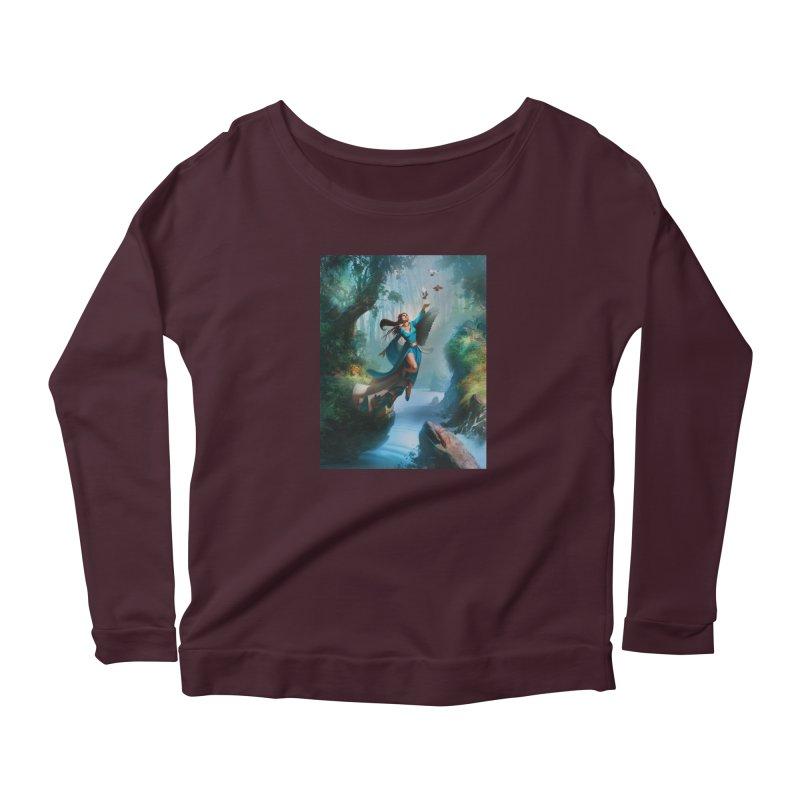 Wind Walker Women's Longsleeve T-Shirt by Draw Juice Custom Art Prints
