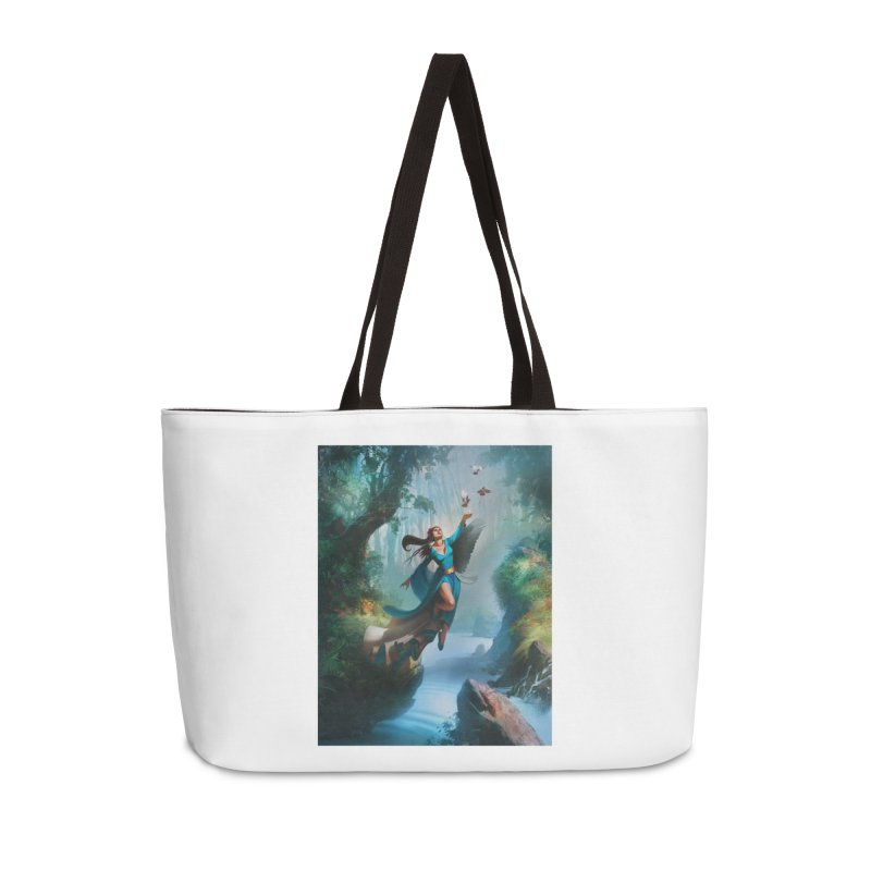 Wind Walker Accessories Weekender Bag Bag by Draw Juice Custom Art Prints