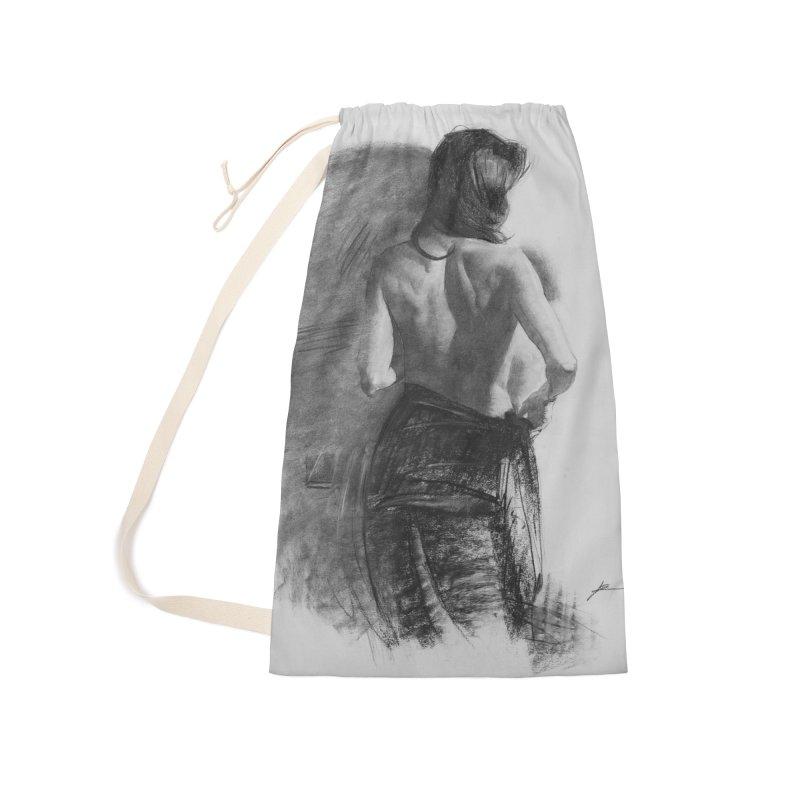 Repose Accessories Bag by Draw Juice Custom Art Prints