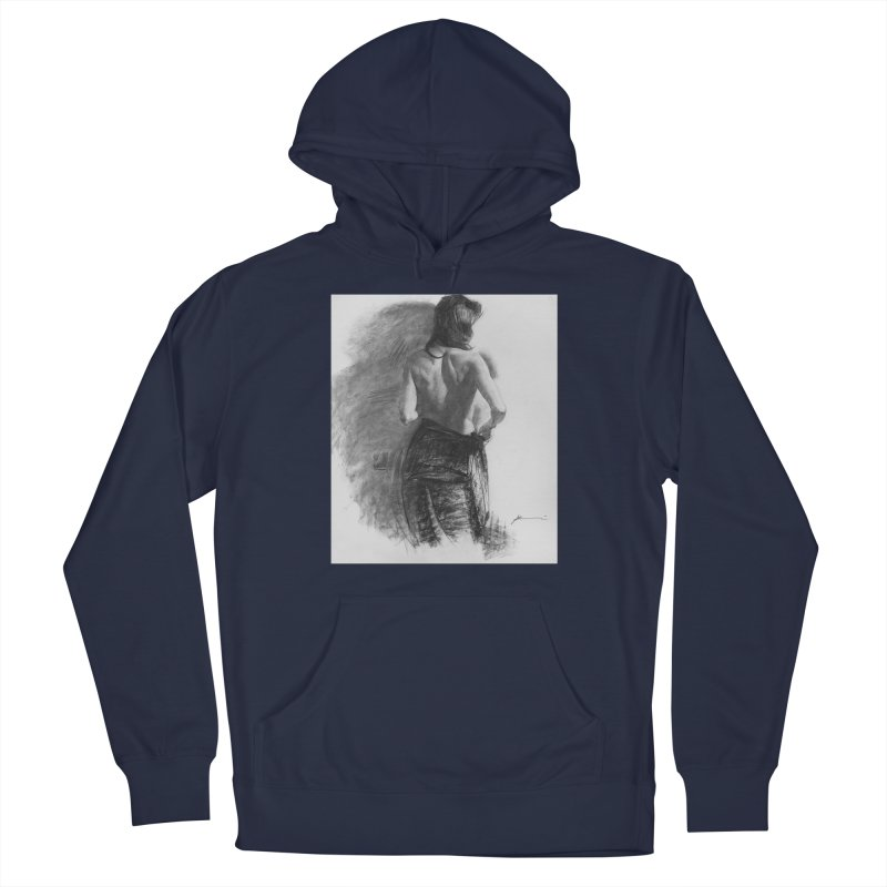 Repose Men's Pullover Hoody by Draw Juice Custom Art Prints