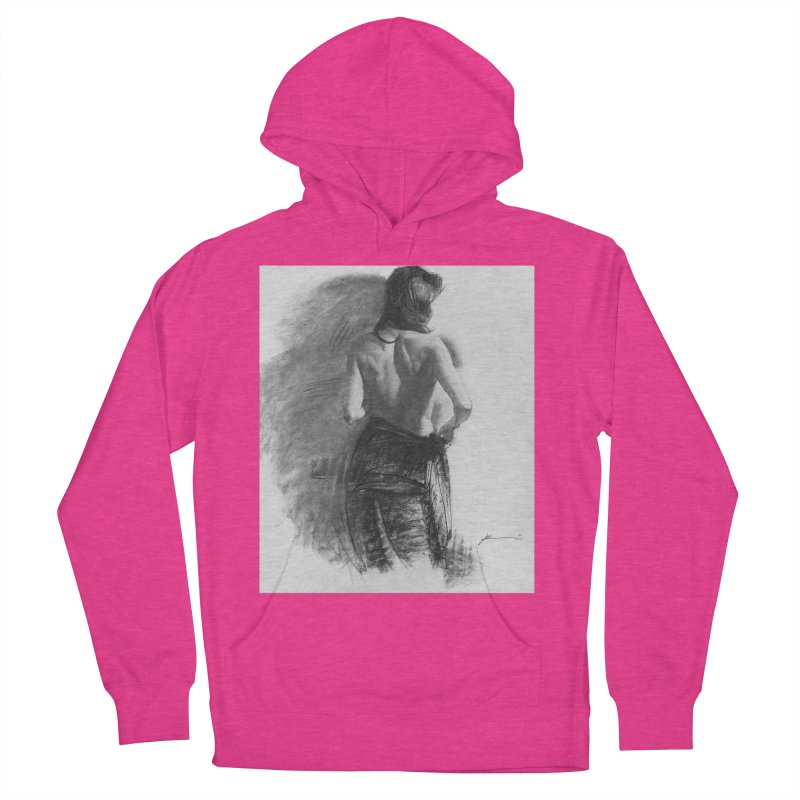 Repose Men's French Terry Pullover Hoody by Draw Juice Custom Art Prints