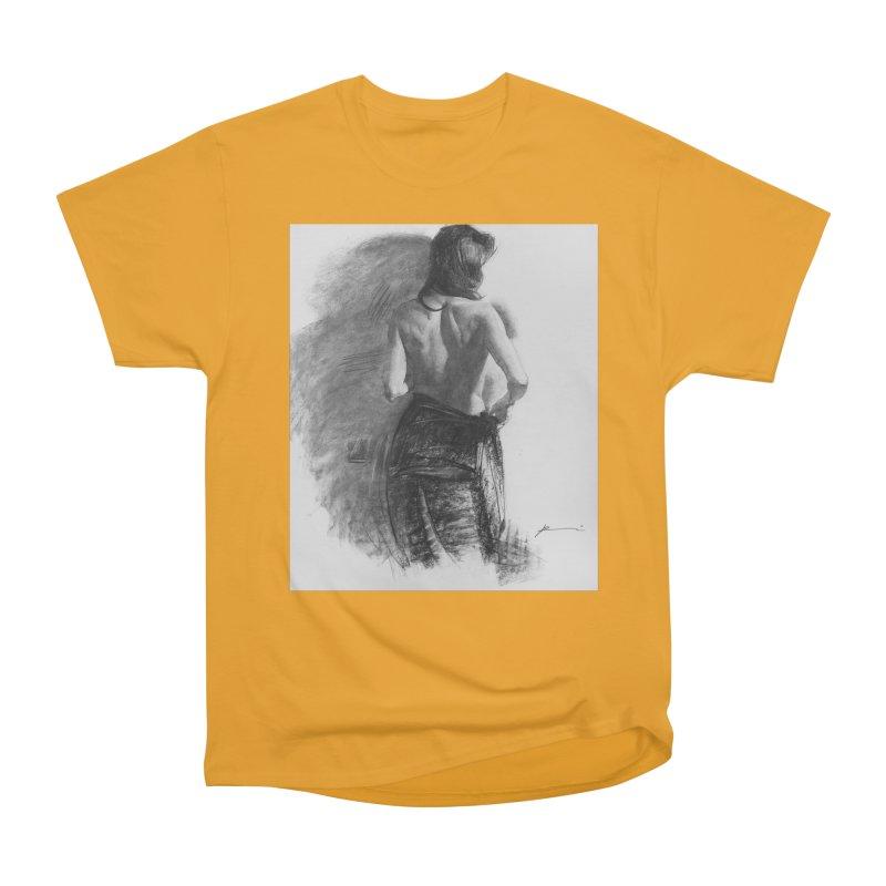 Repose Men's Heavyweight T-Shirt by Draw Juice Custom Art Prints