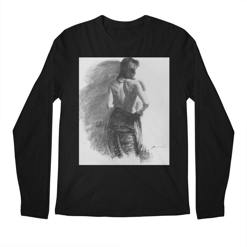 Repose Men's Regular Longsleeve T-Shirt by Draw Juice Custom Art Prints