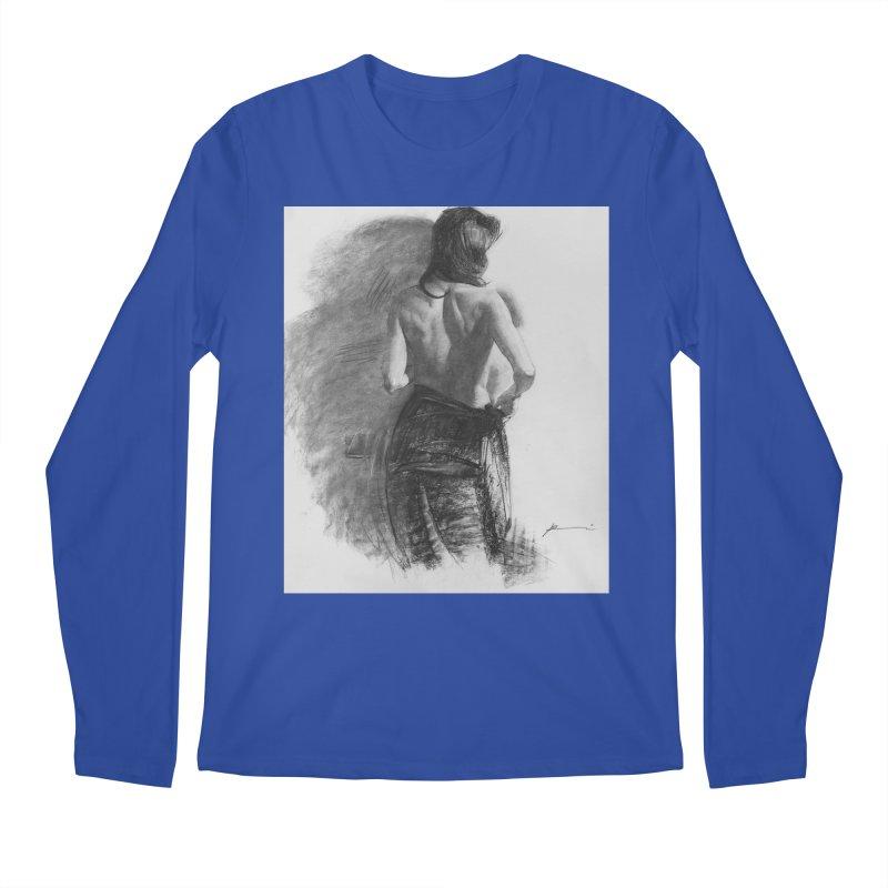 Repose Men's Regular Longsleeve T-Shirt by Draw Juice Custom Art Prints