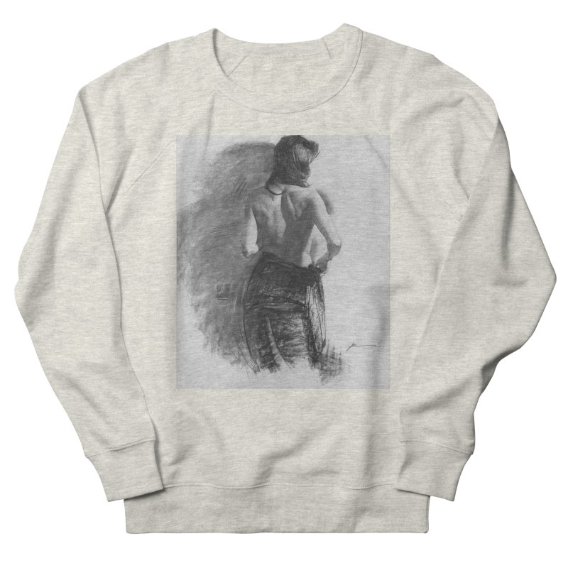 Repose Women's French Terry Sweatshirt by Draw Juice Custom Art Prints