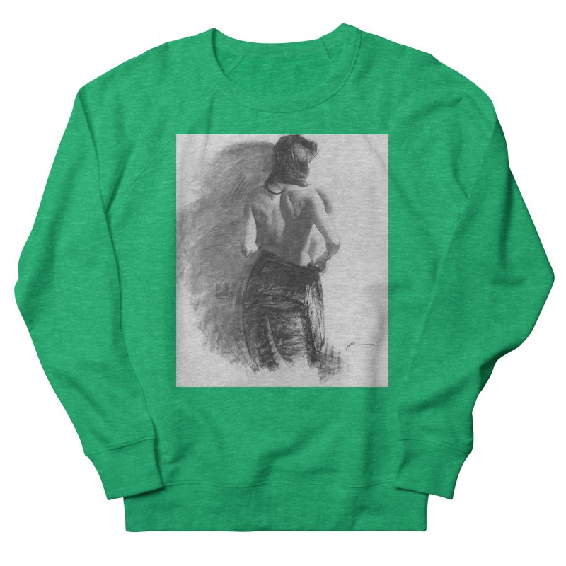 Repose Men's French Terry Sweatshirt by Draw Juice Custom Art Prints