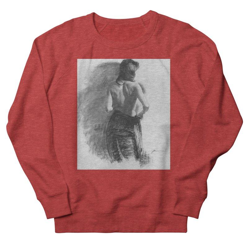 Repose Men's French Terry Sweatshirt by Draw Juice Custom Art Prints