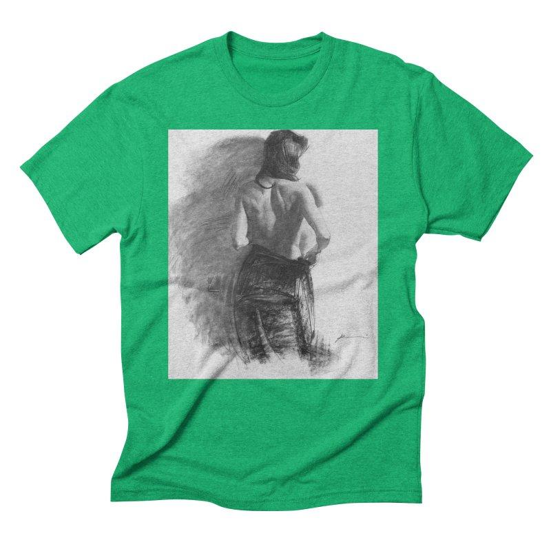 Repose Men's Triblend T-Shirt by Draw Juice Custom Art Prints