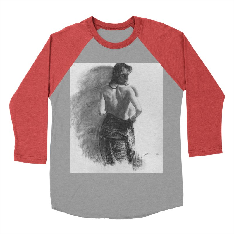 Repose Women's Baseball Triblend Longsleeve T-Shirt by Draw Juice Custom Art Prints