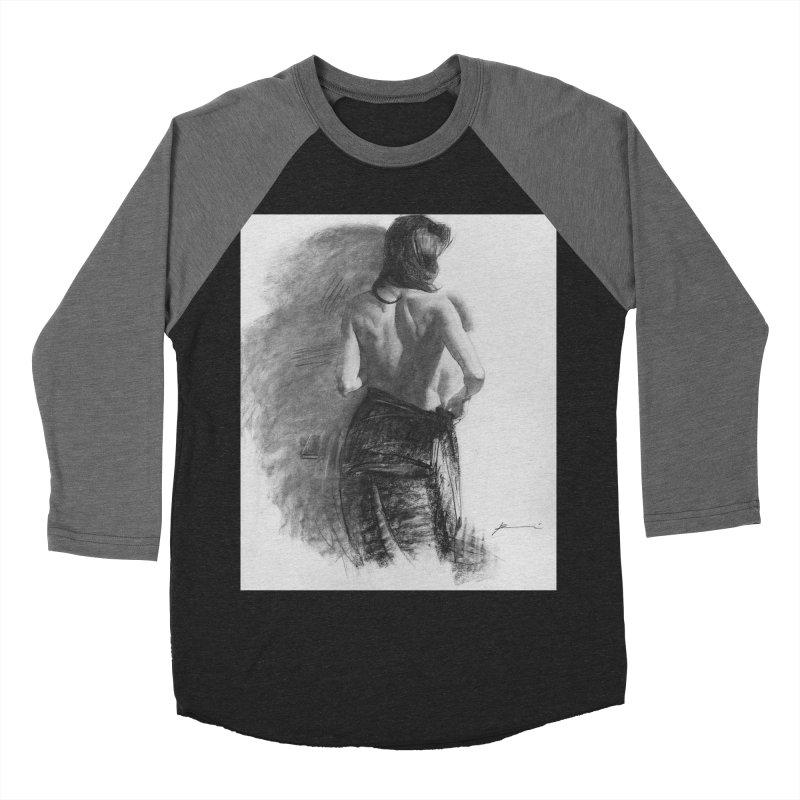 Repose Women's Baseball Triblend Longsleeve T-Shirt by Draw Juice Custom Art Prints
